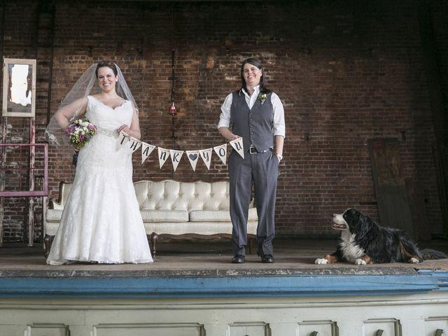 Liz and Kristen's Wedding in Howell, Michigan 10