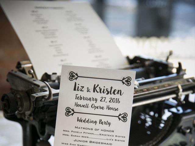 Liz and Kristen's Wedding in Howell, Michigan 14
