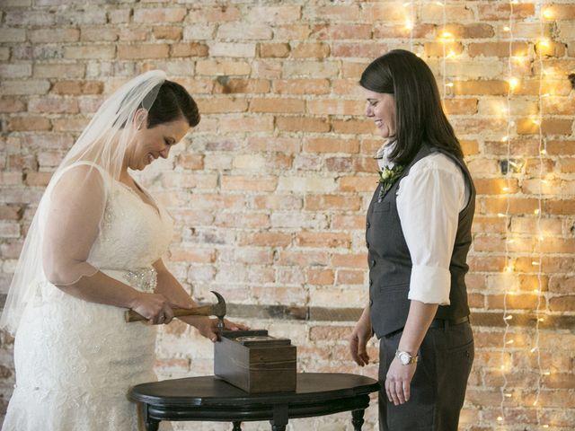 Liz and Kristen's Wedding in Howell, Michigan 18