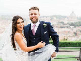 The wedding of Zara and Stephen