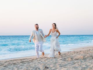 The wedding of Dimitris and Katerina
