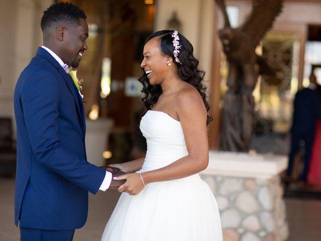 Wasani and Kenya's Wedding in Corona, California 4
