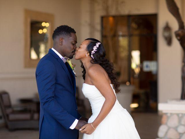 Wasani and Kenya's Wedding in Corona, California 5
