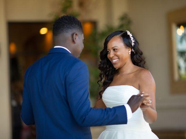 Wasani and Kenya's Wedding in Corona, California 6