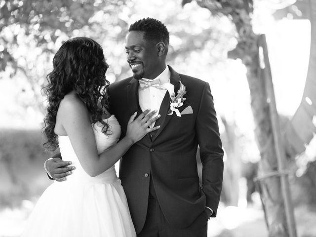 Wasani and Kenya's Wedding in Corona, California 7