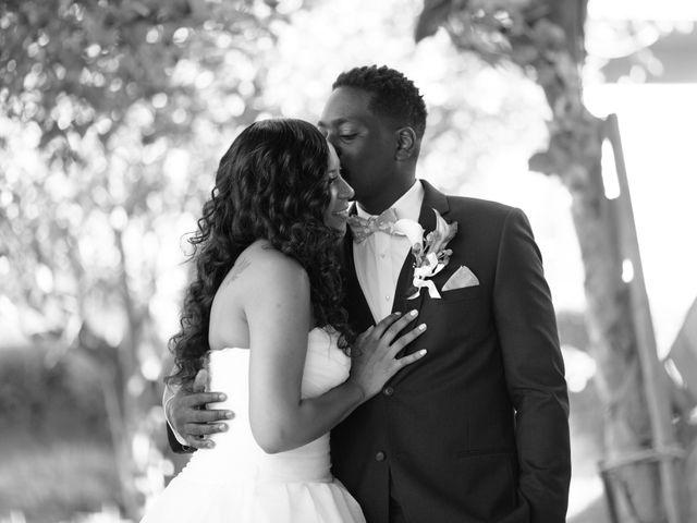 Wasani and Kenya's Wedding in Corona, California 8