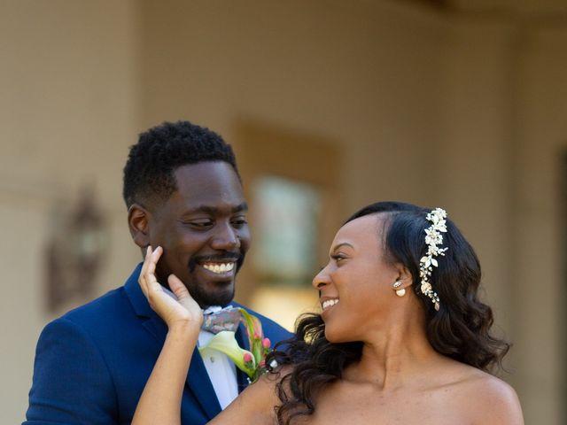 Wasani and Kenya's Wedding in Corona, California 9