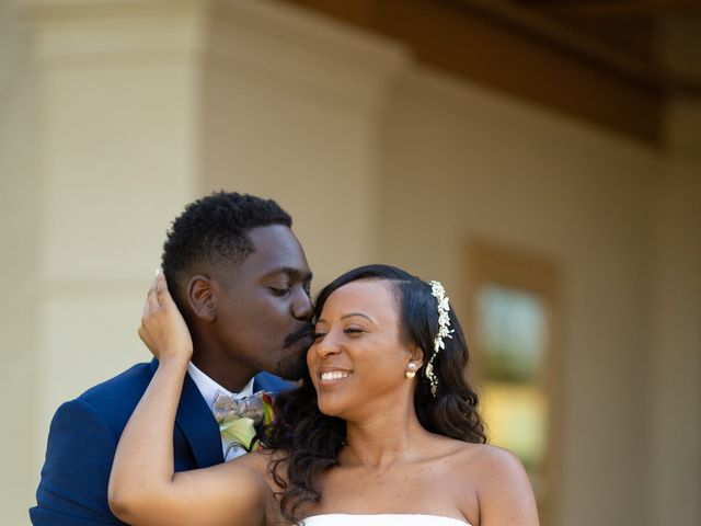 Wasani and Kenya's Wedding in Corona, California 10