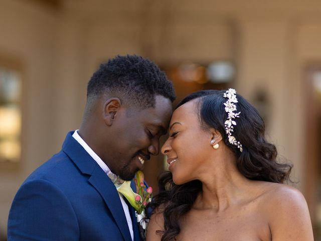 Wasani and Kenya's Wedding in Corona, California 11