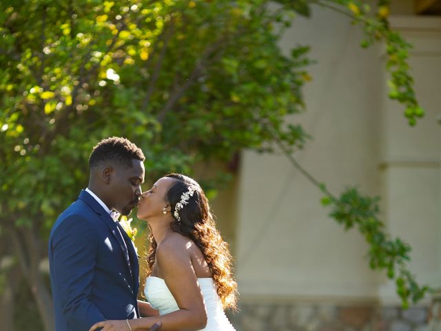 Wasani and Kenya's Wedding in Corona, California 12