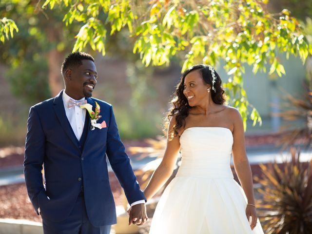 Wasani and Kenya's Wedding in Corona, California 1