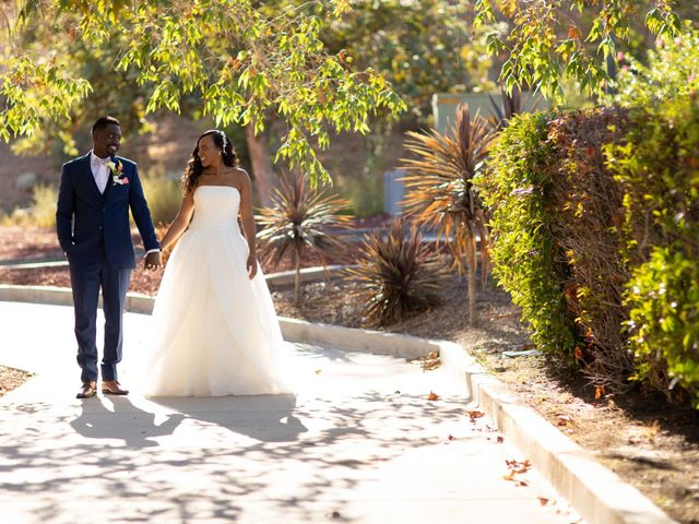 Wasani and Kenya's Wedding in Corona, California 14