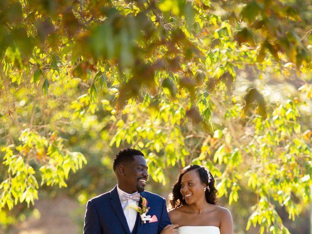 Wasani and Kenya's Wedding in Corona, California 16