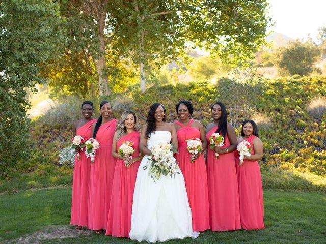 Wasani and Kenya's Wedding in Corona, California 22