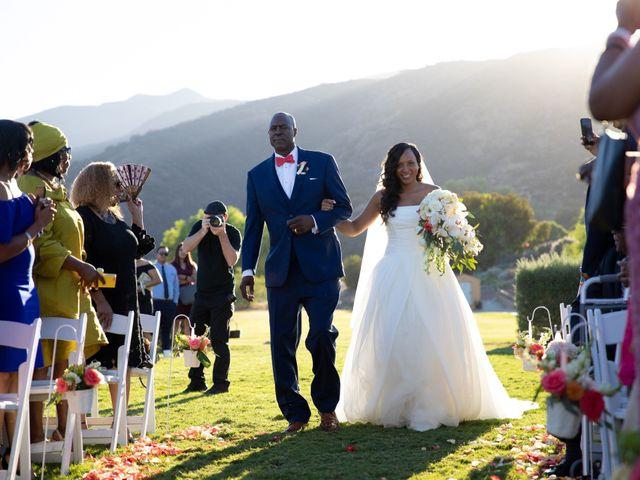 Wasani and Kenya's Wedding in Corona, California 25