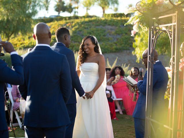 Wasani and Kenya's Wedding in Corona, California 26