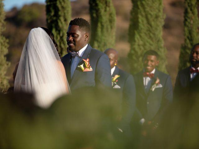 Wasani and Kenya's Wedding in Corona, California 27