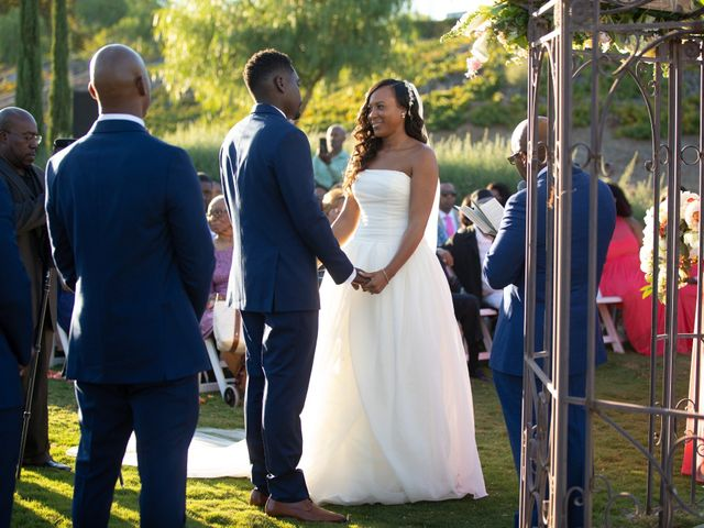 Wasani and Kenya's Wedding in Corona, California 28