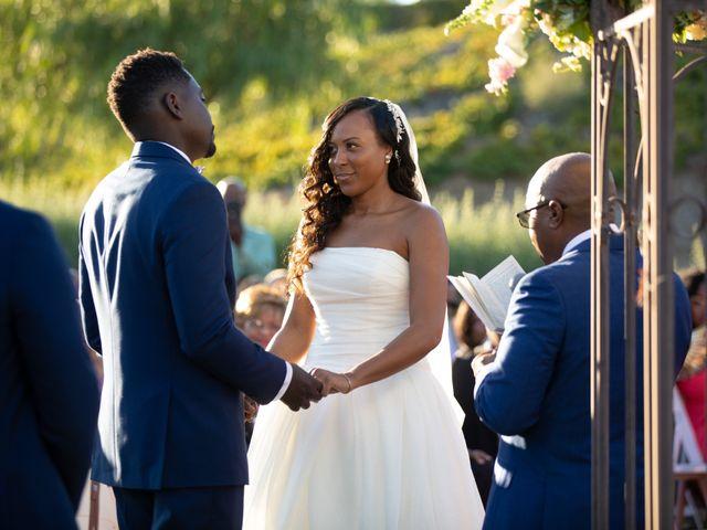 Wasani and Kenya's Wedding in Corona, California 30