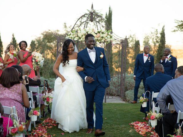 Wasani and Kenya's Wedding in Corona, California 32