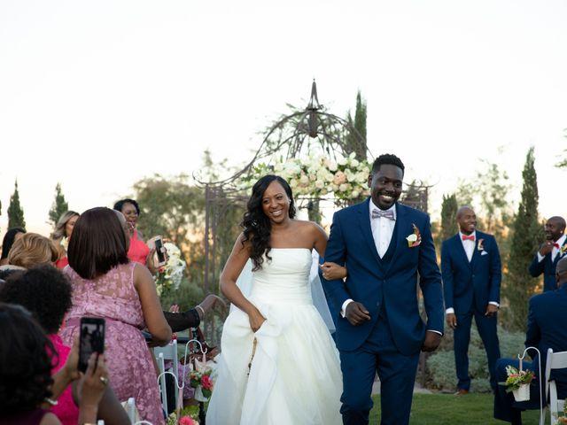 Wasani and Kenya's Wedding in Corona, California 33