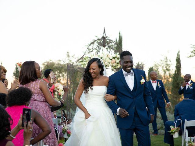 Wasani and Kenya's Wedding in Corona, California 34