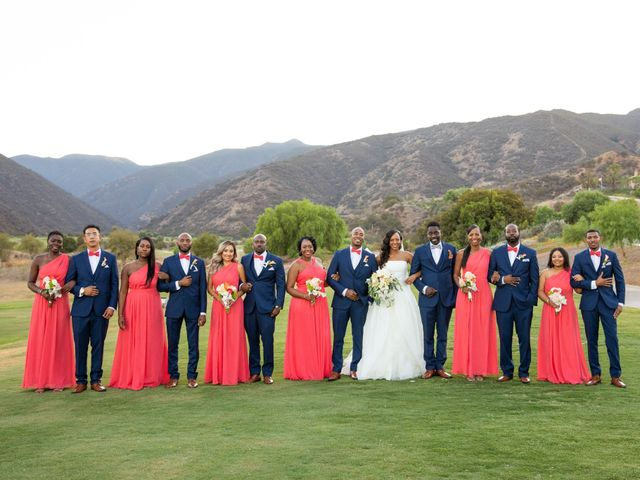 Wasani and Kenya's Wedding in Corona, California 2
