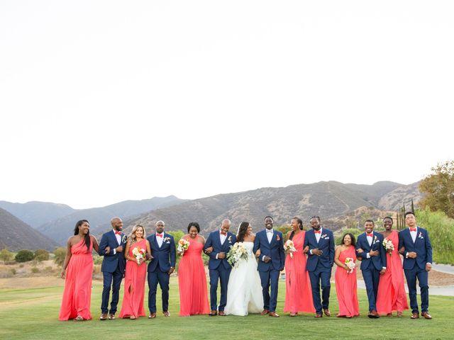 Wasani and Kenya's Wedding in Corona, California 35