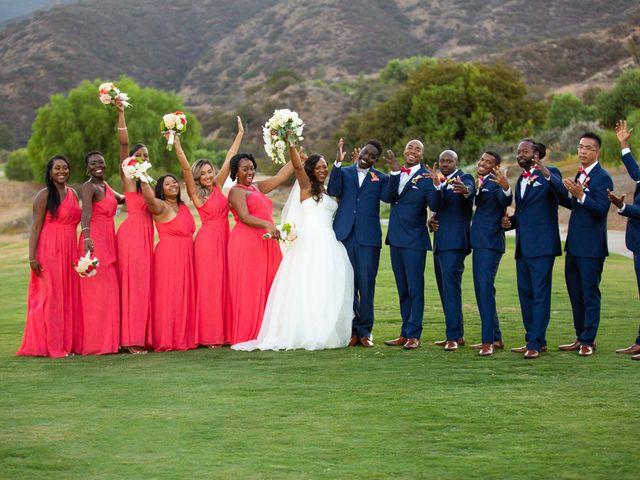 Wasani and Kenya's Wedding in Corona, California 36