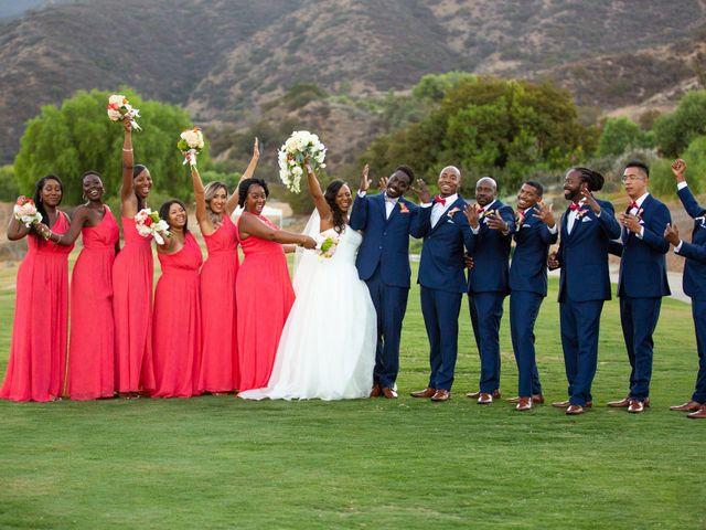 Wasani and Kenya's Wedding in Corona, California 37