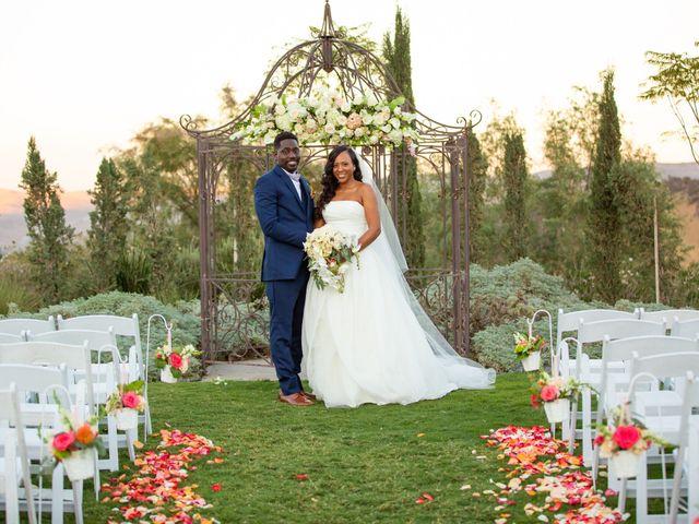 Wasani and Kenya's Wedding in Corona, California 38