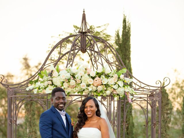 Wasani and Kenya's Wedding in Corona, California 39