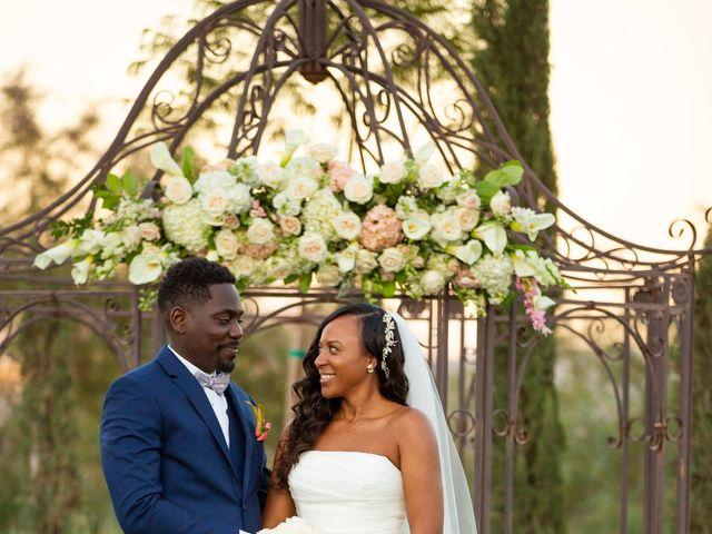 Wasani and Kenya's Wedding in Corona, California 40