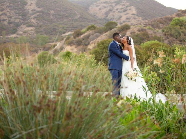 Wasani and Kenya's Wedding in Corona, California 42