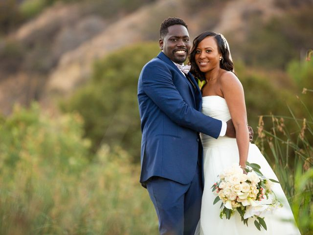 Wasani and Kenya's Wedding in Corona, California 43