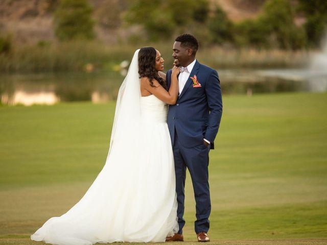 Wasani and Kenya's Wedding in Corona, California 47