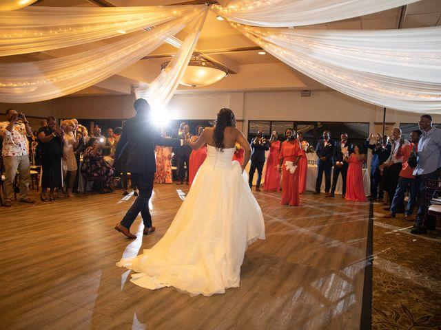 Wasani and Kenya's Wedding in Corona, California 55