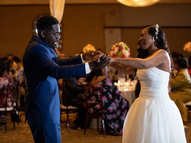 Wasani and Kenya's Wedding in Corona, California 59