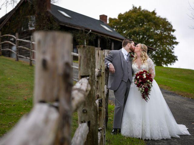 The wedding of Cassandra and Patrick