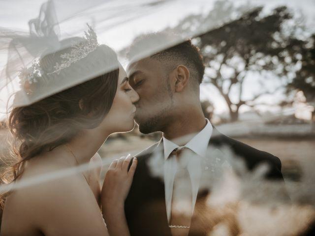 The wedding of Amanda and Samson