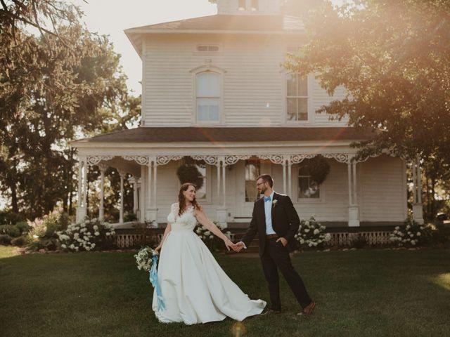 The wedding of Teresa and Shane
