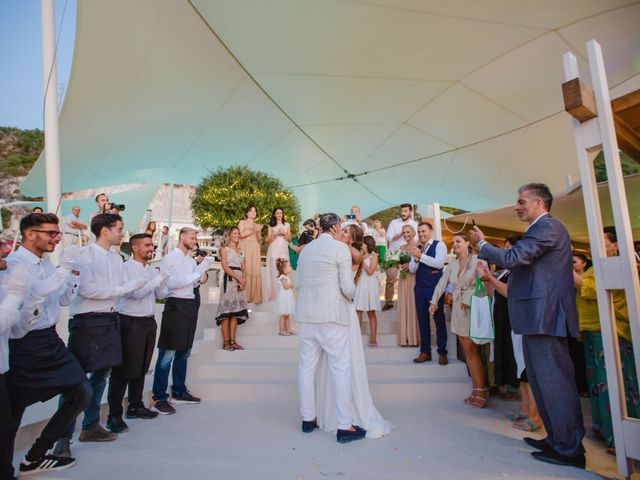 Katerina and Dimitris's Wedding in Lefkada, Greece 64