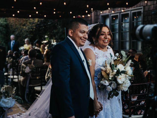 The wedding of Sammy and Wendy
