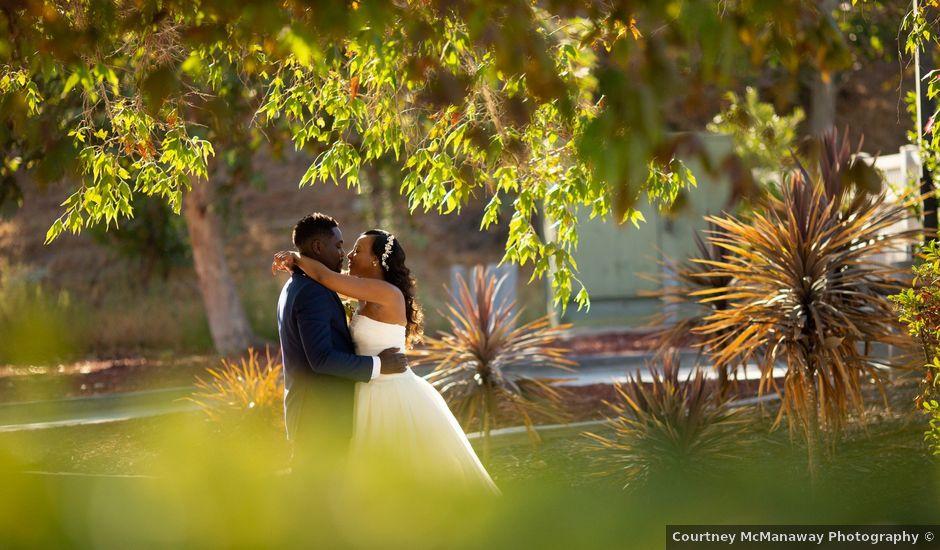 Wasani and Kenya's Wedding in Corona, California