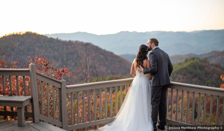 Brian and Kimberly's Wedding in Andrews, North Carolina