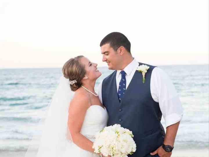 The wedding of Hunter and Lauren