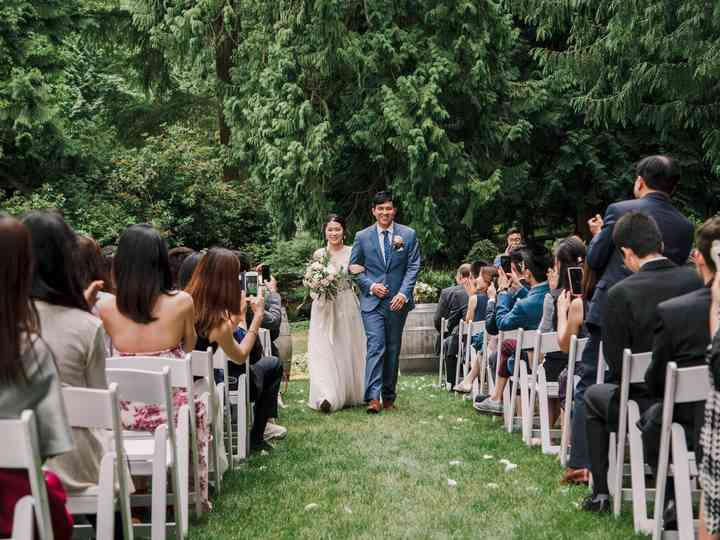 The wedding of Guangming and Zhen