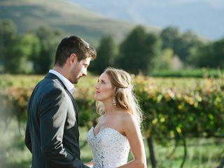 The wedding of Christel and Warno