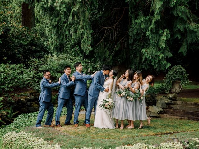 Zhen and Guangming's Wedding in Seattle, Washington 18