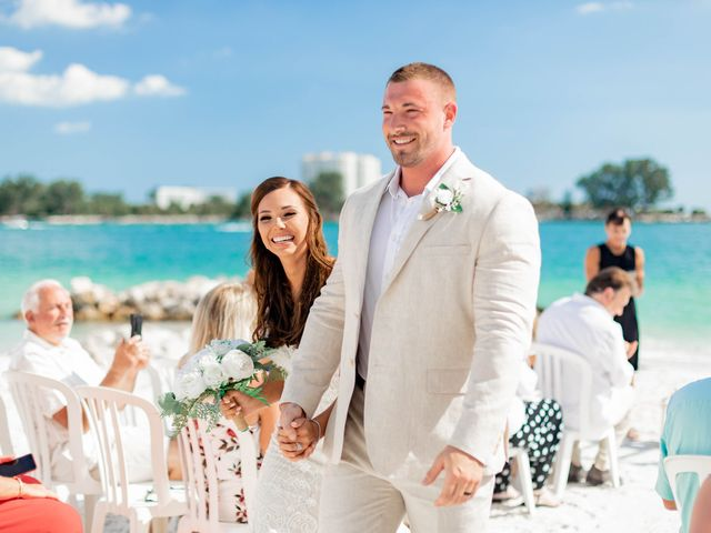 Keith and Brooke's Wedding in Clearwater Beach, Florida 14